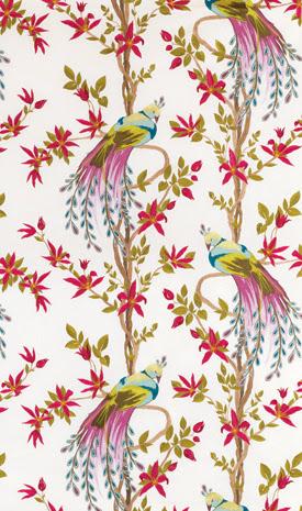 House of pemberley tipsy ebaying - Nina campbell paradiso wallpaper ...