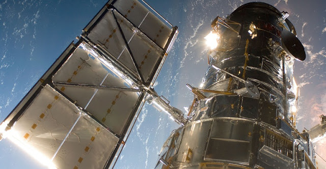 Hubble Space Telescope. Credit: NASA/ESA
