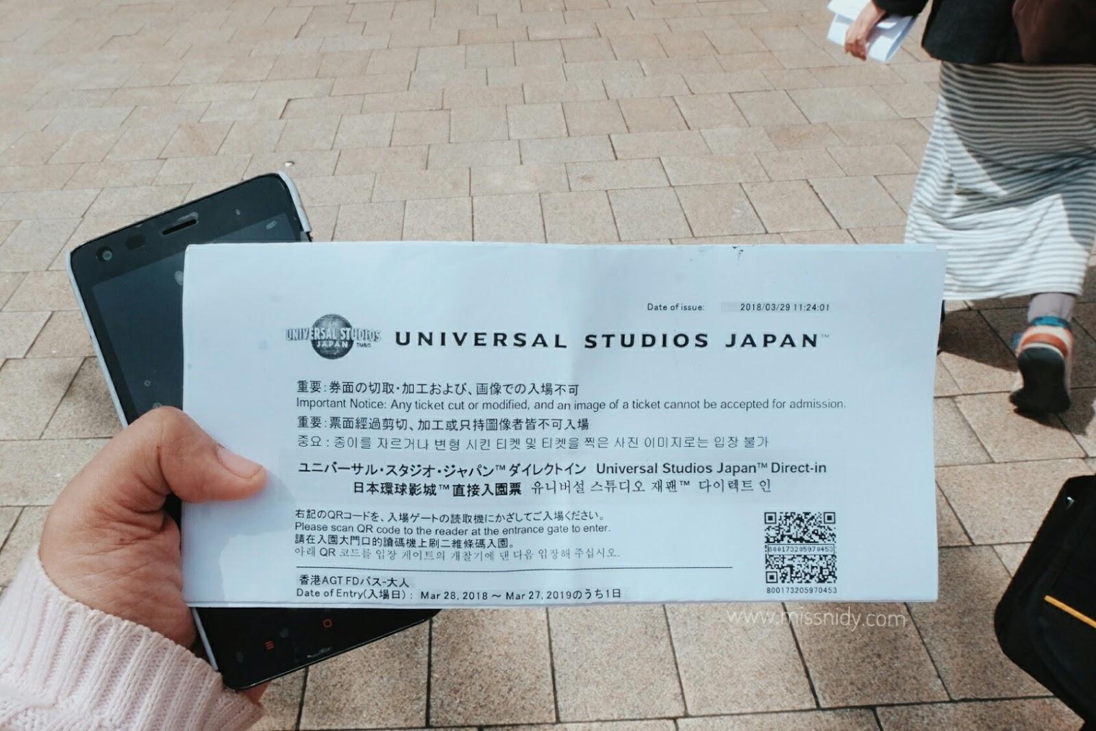 beli tiket murah universal studio japan