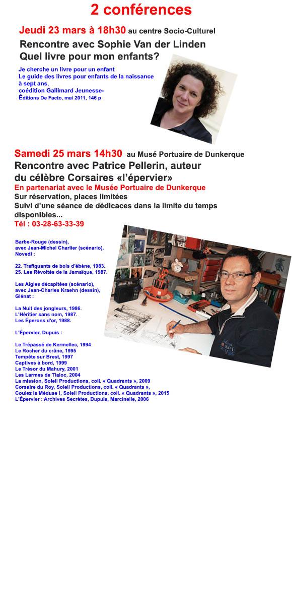 Salon de la bd et du livre de fort mardyck 2017 conf rences for Salon de la bd colomiers