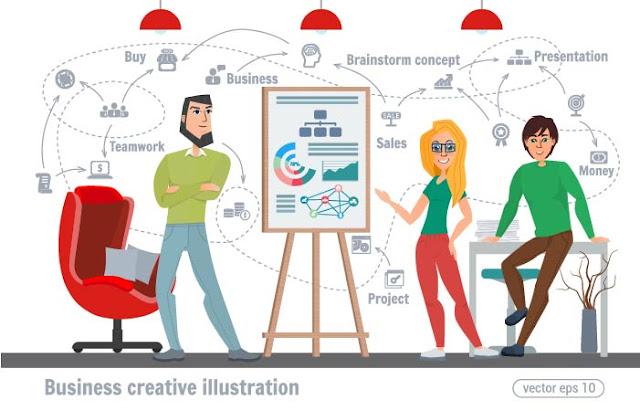 حصريا اكبر مجموعه فيكتورات فوتوشوب تصاميم نشاطات متنوعة لشخصيات أو رسوم كرتونية