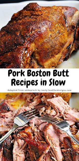 Pork Boston Butt Recipes