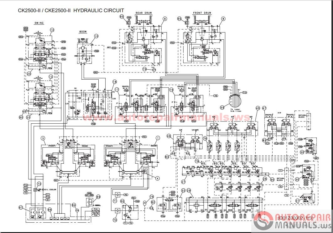 tronair hydraulic wiring diagram manual
