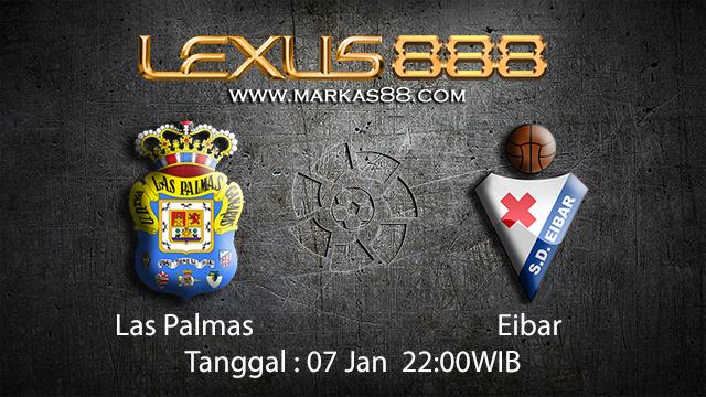 PREDIKSIBOLA - PREDIKSI TARUHAN BOLA LAS PAMAS VS EIBAR 07 JANUARI 2017 ( SPANISH LA LIGA )