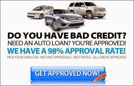 Car Loan With Bad Credit History Bad Credit Car Loans Auto Loan