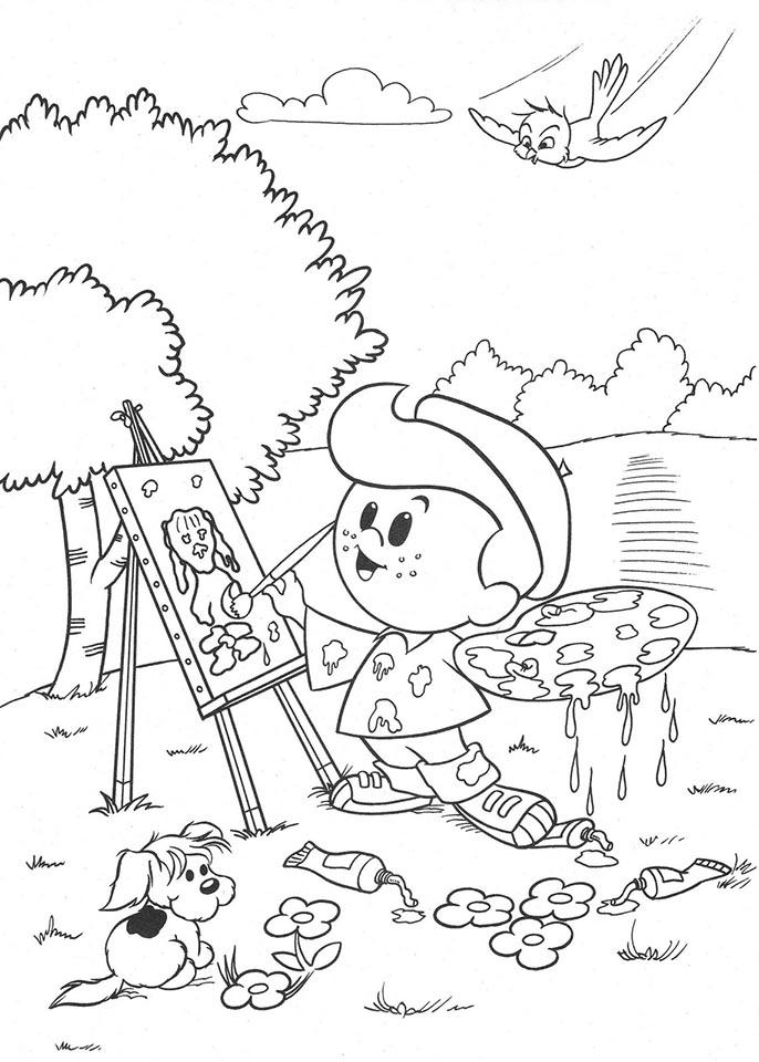 dibujar colorear dibujo