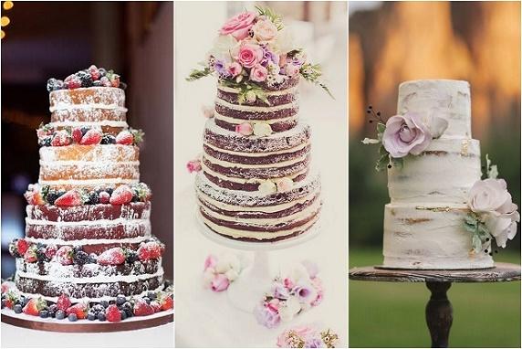 Trendy weselne 2016, trendy ślubne 2016, ciasta i torty weselne, torty rustykalne, torty w stylu vintage