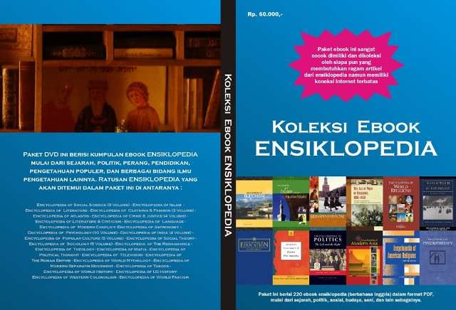 Paket Ebook Ensiklopedia (DVD)