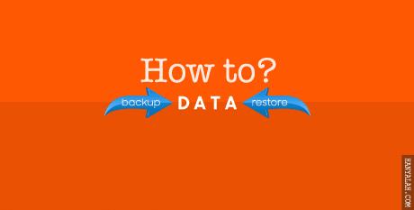 Cara Mudah Backup dan Impor Konten Data Blogger di Blogger