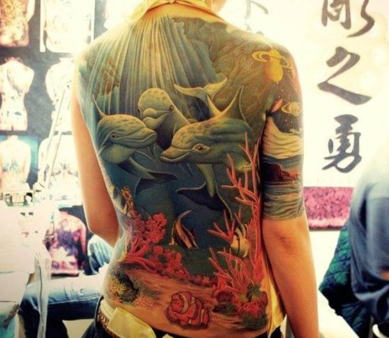 45 Cute And Sexy Neck Tattoo Designs For Girls: 50+ Cool Back Tattoos For Girls (2019)