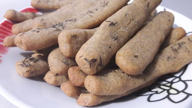 Grissini - paluszki chlebowe, bezglutenowe - PRZEPIS