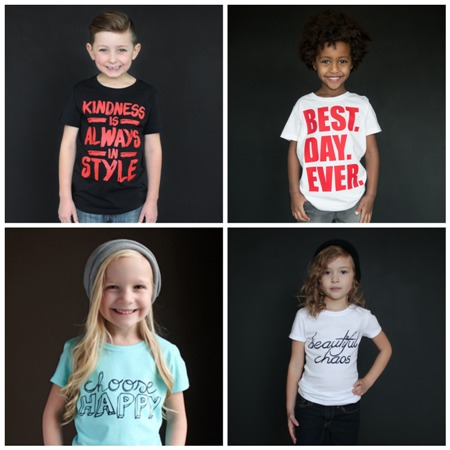 positive childrens clothing