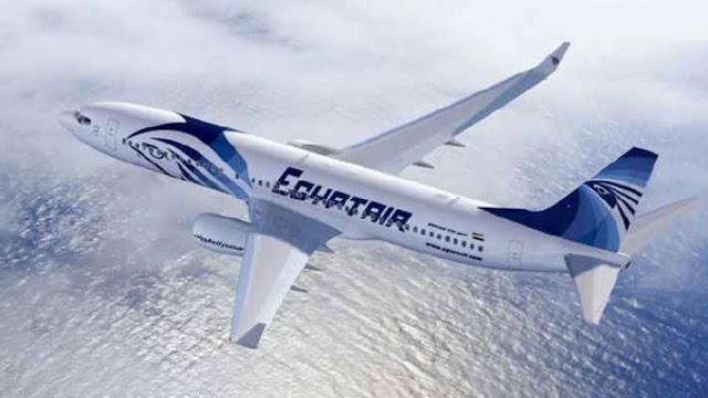 تحطم الطائرة المصرية