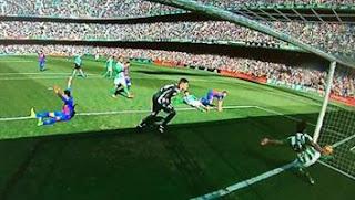 Barcelona Diimbangi Real Betis 1-1
