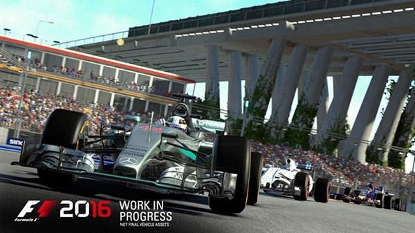 Spesifikasi F1 2016