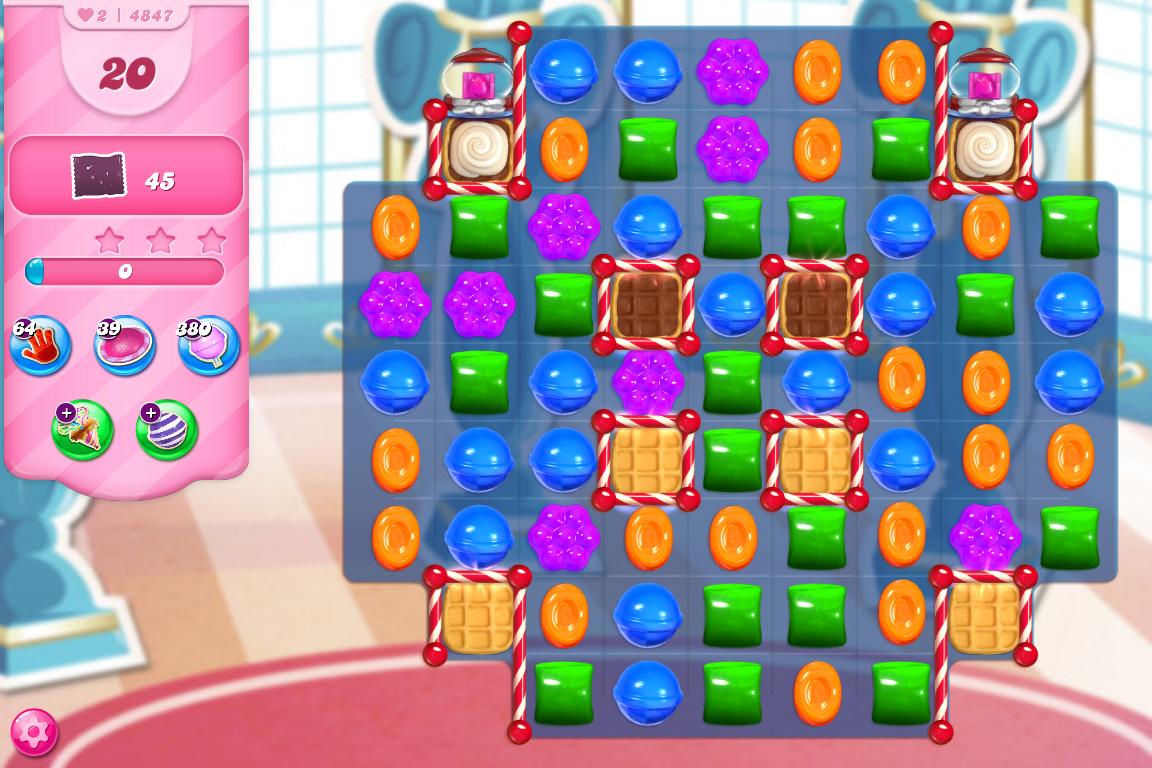 Candy Crush Saga level 4847