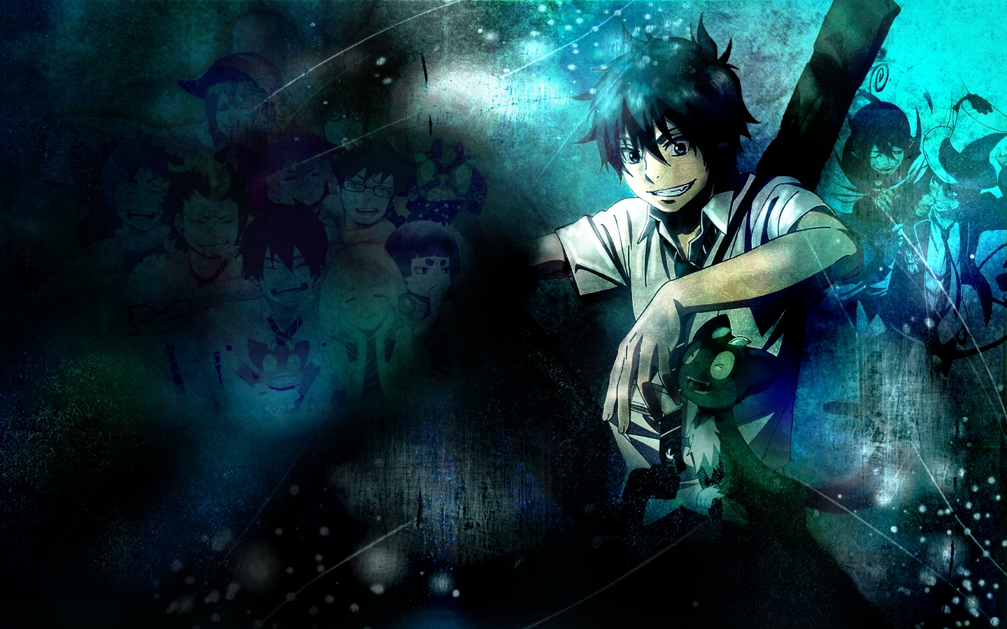 Hd Wallpaper Rin Okumura Ao No Exorcist 0006