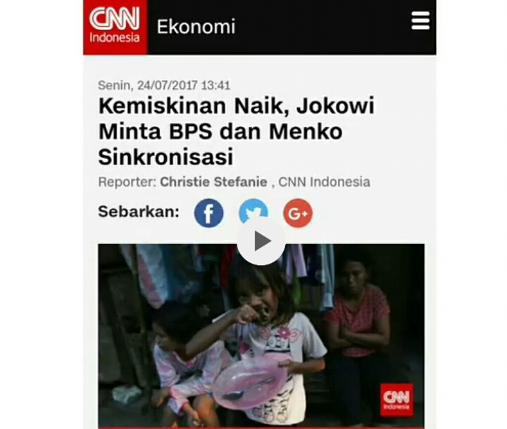 """""""Tak Mau Disalahkan Soal Kemiskinan Yang Meroket, Jokowi Salahkan BPS"""" #PresidenKokGitu"""