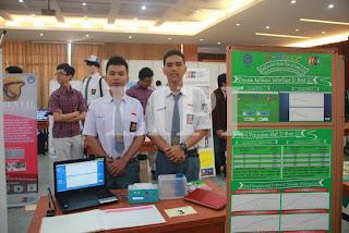 3. Aan Aria Nanda dan feriawan Tan dari SMAN 1 Tarakan dengan judul Karya D-Box CC (Detector Box for CO and CO2