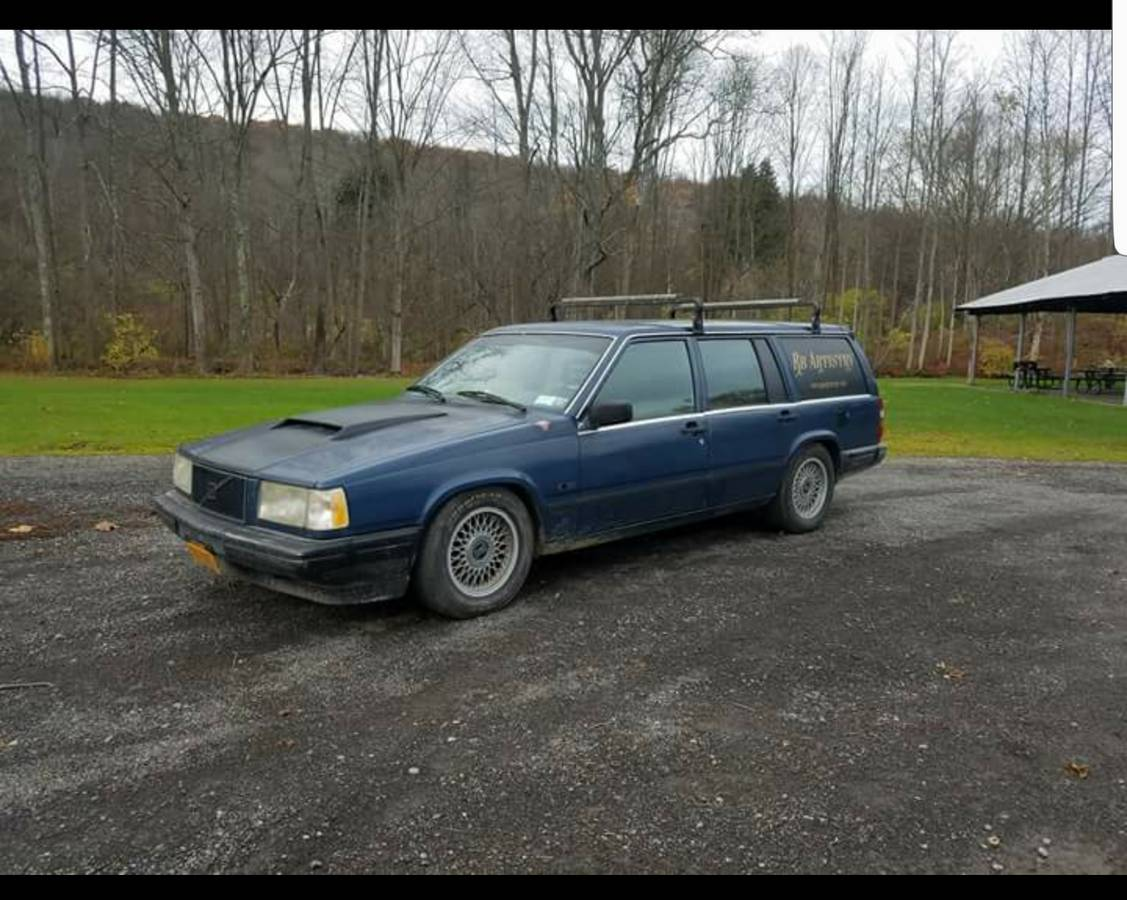 Daily Turismo: V8 Powaaaaah: 1990 Volvo 740 Wagon