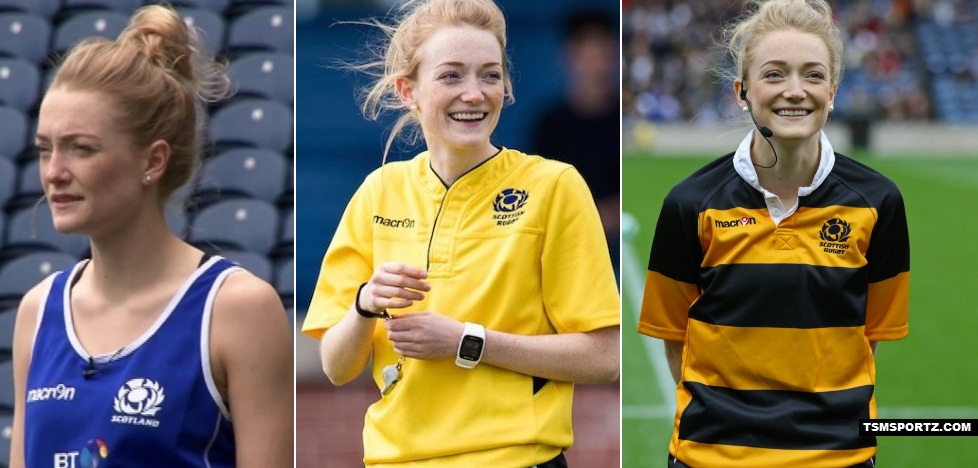 Hollie Davidson Scottish professional rugby referee