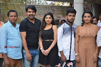 Khayyum, Gourav, Madhulagna Das, Athiya, Sekhar at Chandra Danger Love Story Press Meet  0037.jpg