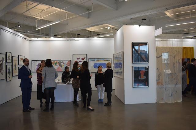 Foire Papier 2019, art, Montréal, Océane's Family