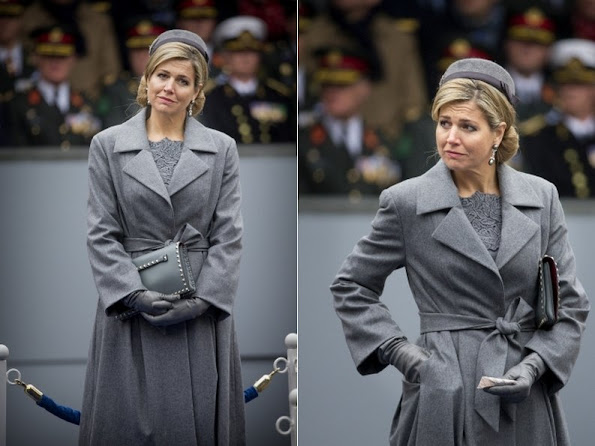 King Willem-Alexander and Queen Maxima of the Netherlands attends the ceremony of the Military Order of William (Militaire Willemsorde) to honor and award the Commando Corps