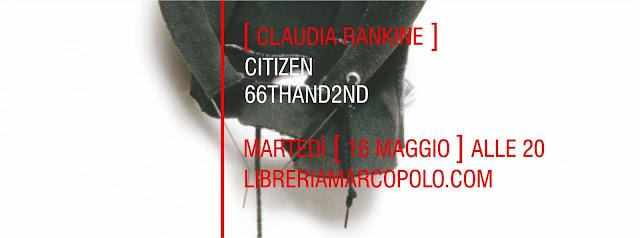 Claudia Rankine alla MarcoPolo