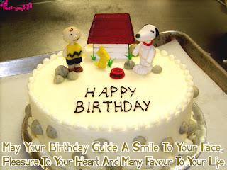 Urdu Poetry And Ghazal Happy Birthday Cake Images With