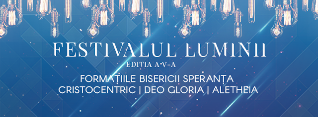 Festivalul Luminii la Speranta Timisoara - 30 aprilie 2016