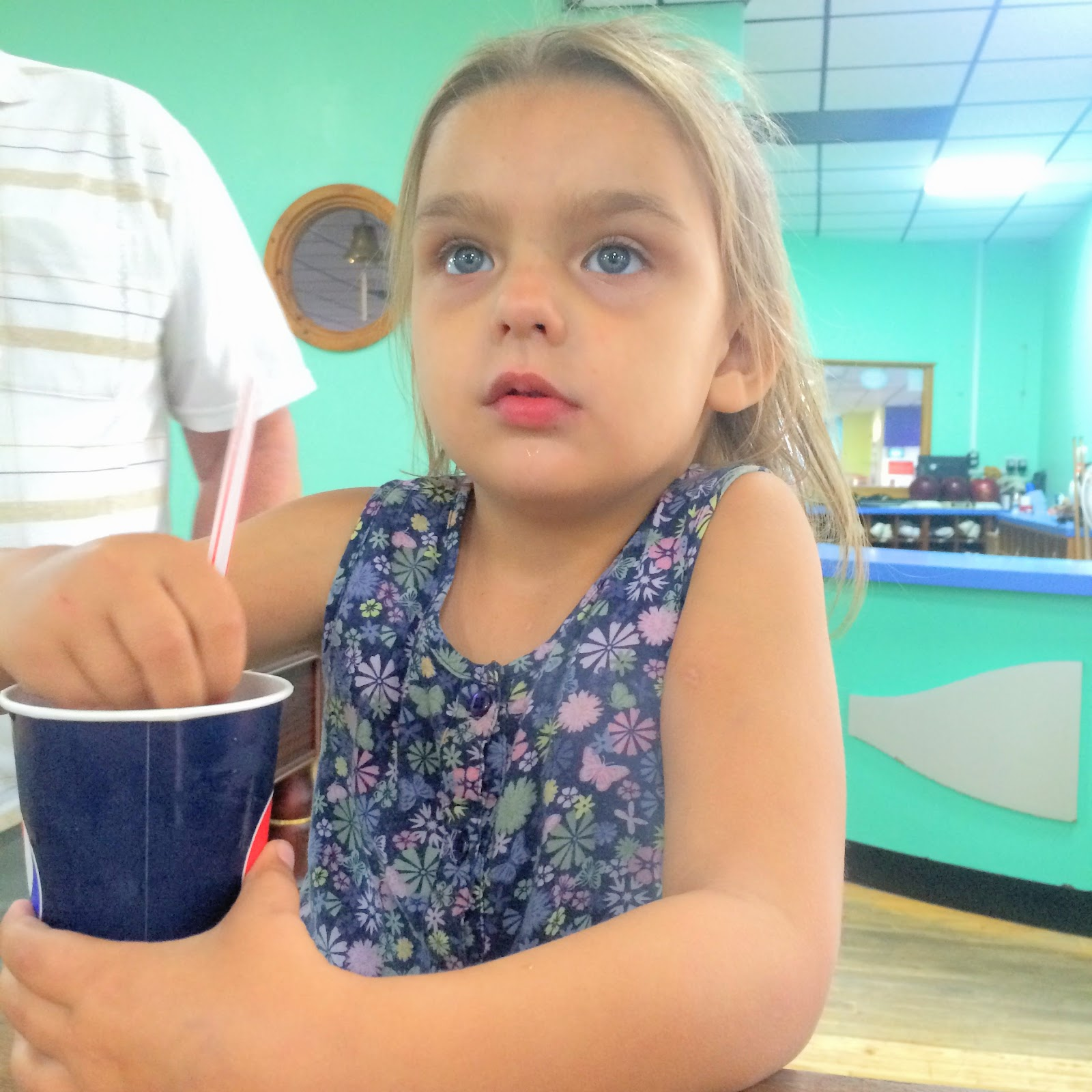 , Caitlyn Turns 8!  A Bowling and Pizza Party
