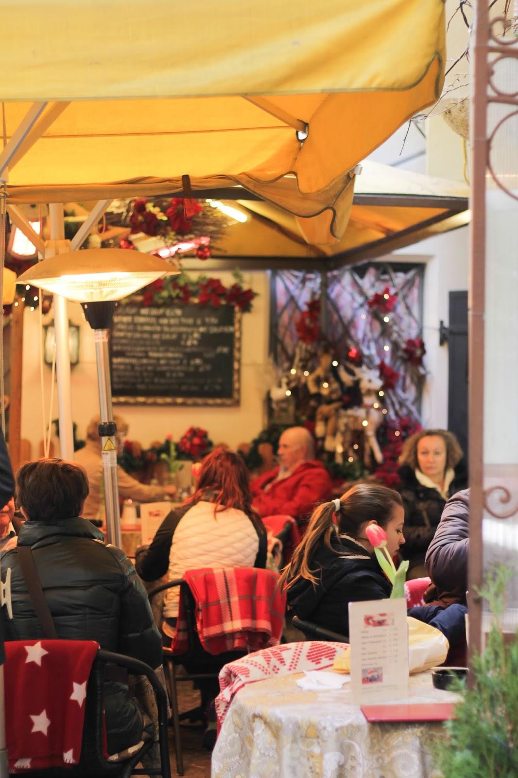 Cafe in Salzburg