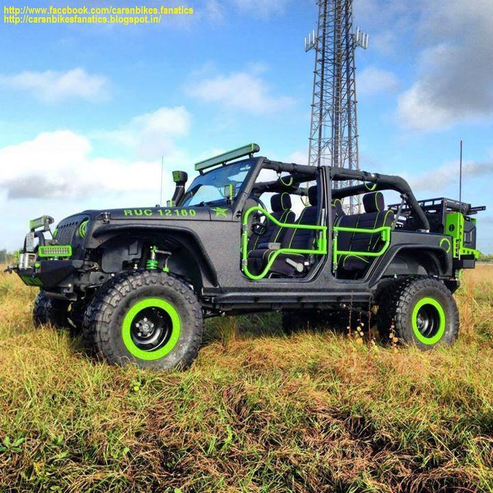 Car Amp Bike Fanatics Modified Jeep Wrangler