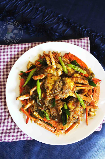 crab varattiyath crab roast indian kerala style roast seafood recipes