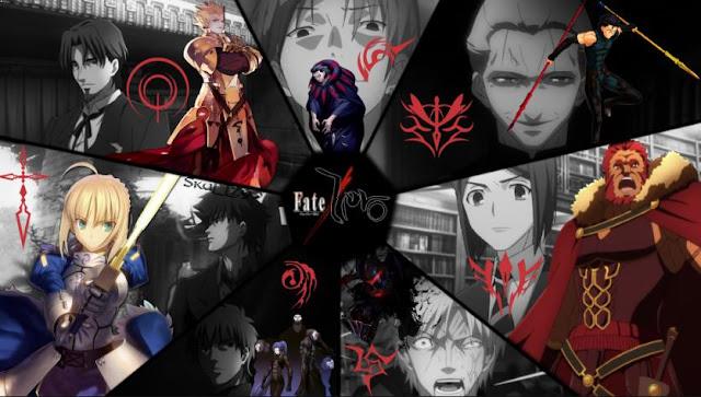 Fate/Zero - Daftar Rekomendasi Anime Buatan Studio Ufotable Terbaik