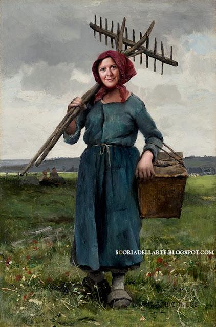 fotomontaggi sul Fertility Day- Lorenzin al lavoro nei campi