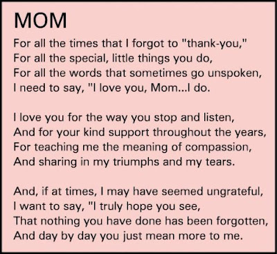 thank you mom letter thank you quotes quotesgram 12118