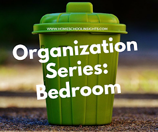 Organization Series Bedroom banner