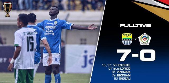 Persib Bandung Lumat Persiwa 7-0
