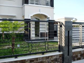 pagar tembok rumah minimalis terbaru, gambar pagar tembok rumah terbaru, desain pagar tembok rumah type 36, tembok pagar rumah terkini, tembok pagar rumah teres,