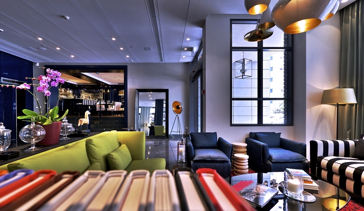 World of architecture elegant colorful hotel interior for 8 design hotel