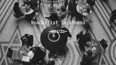 Roadartist in Athens