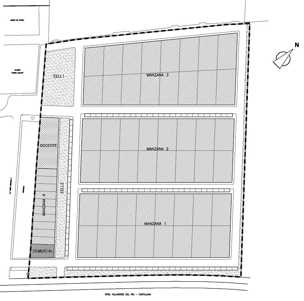 Plan Parcial El Albero (Villaverde del Río) - Estudio Honorio Aguilar