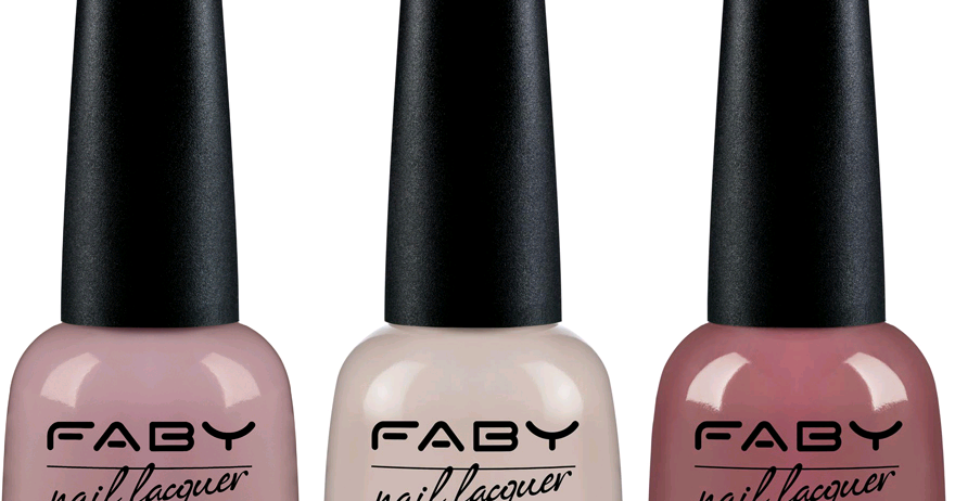 Don's Nail OBSESSION!: FABY NAIL LACQUER NEUTRAL SHADES ...