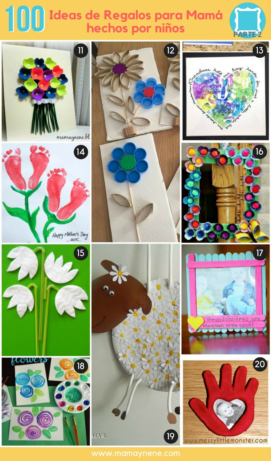 IDEAS-REGALOS-MAMA-MADRE-MANUALIDADES-NIÑOS-MAMAYNENE-CRAFTS-KIDS-MOTHER