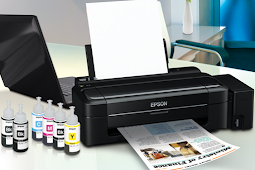 Cara Reset Printer Epson L300 Solusi Waste ink full - Service required Sukses 100%
