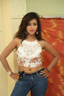 Deekshita Parvathi in a short crop top and Denim Jeans Spicy Pics Beautiful Actress Deekshita Parvathi January 2017 CelebxNext (25).JPG