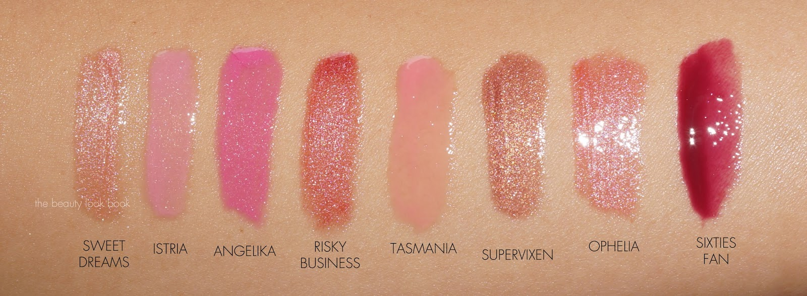 Burts Bees Lipstick Swatches