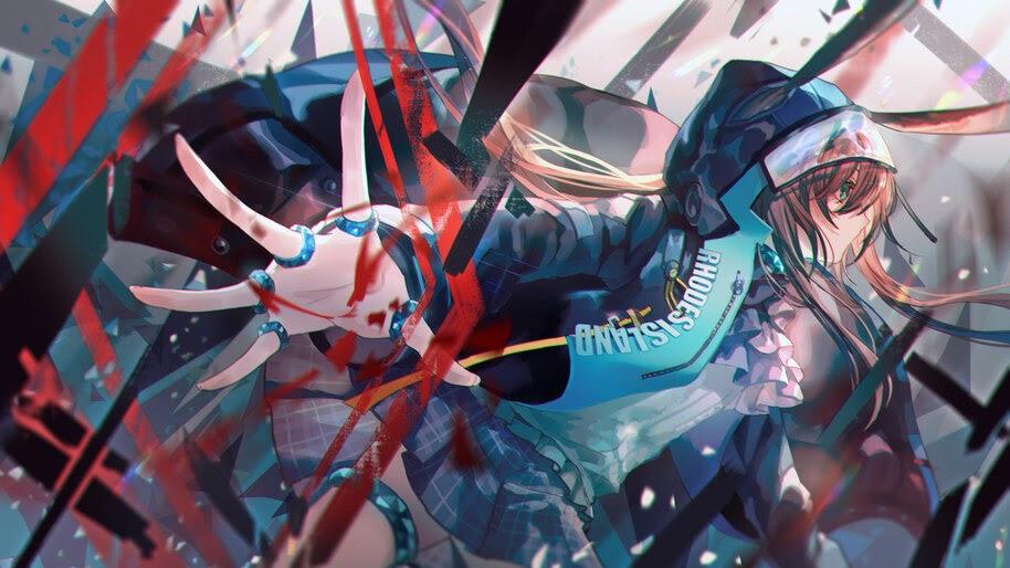 Amiya, Arknights, Anime, Girls, 4K, #6.527